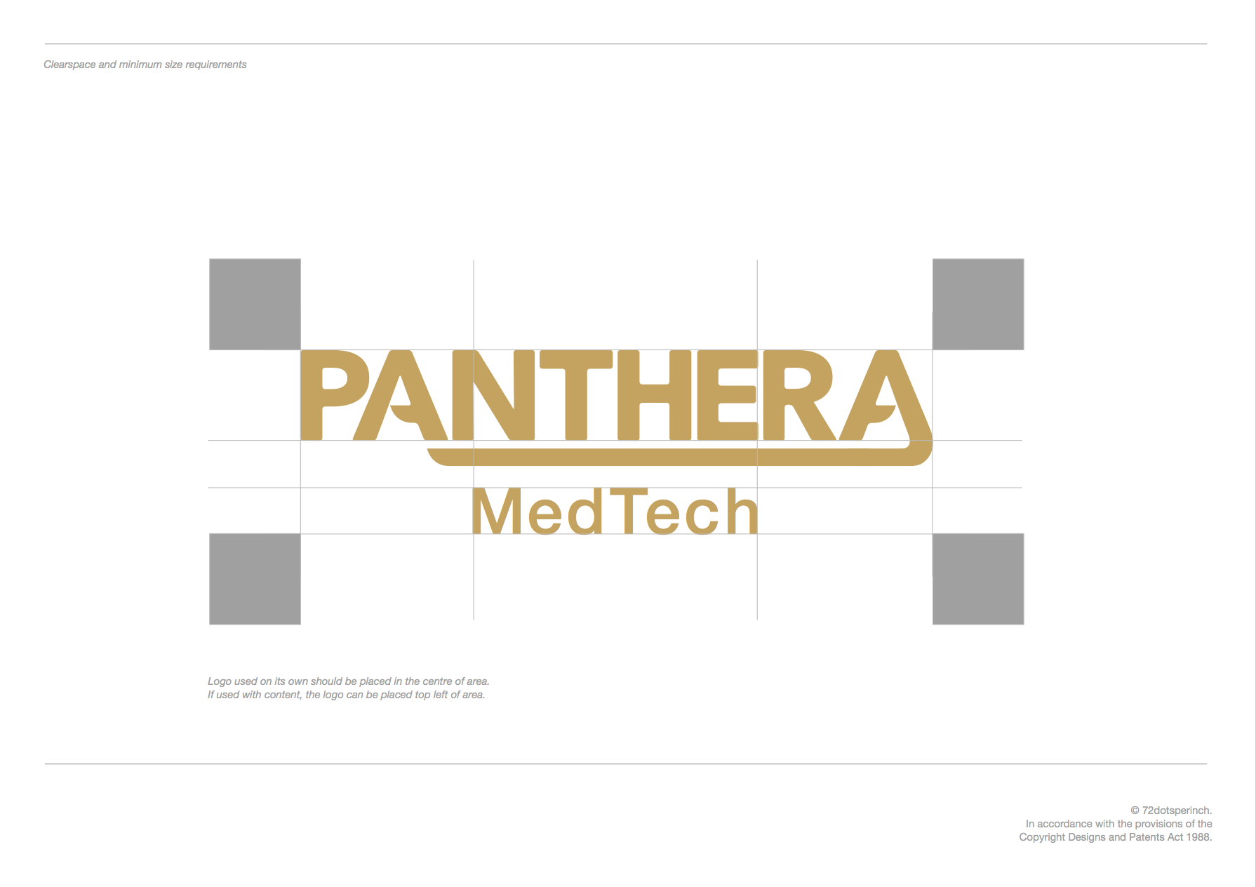 Panthera MedTech Branding by 72dotsperinch