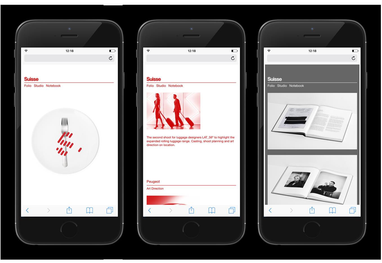 Suisse Mobile development