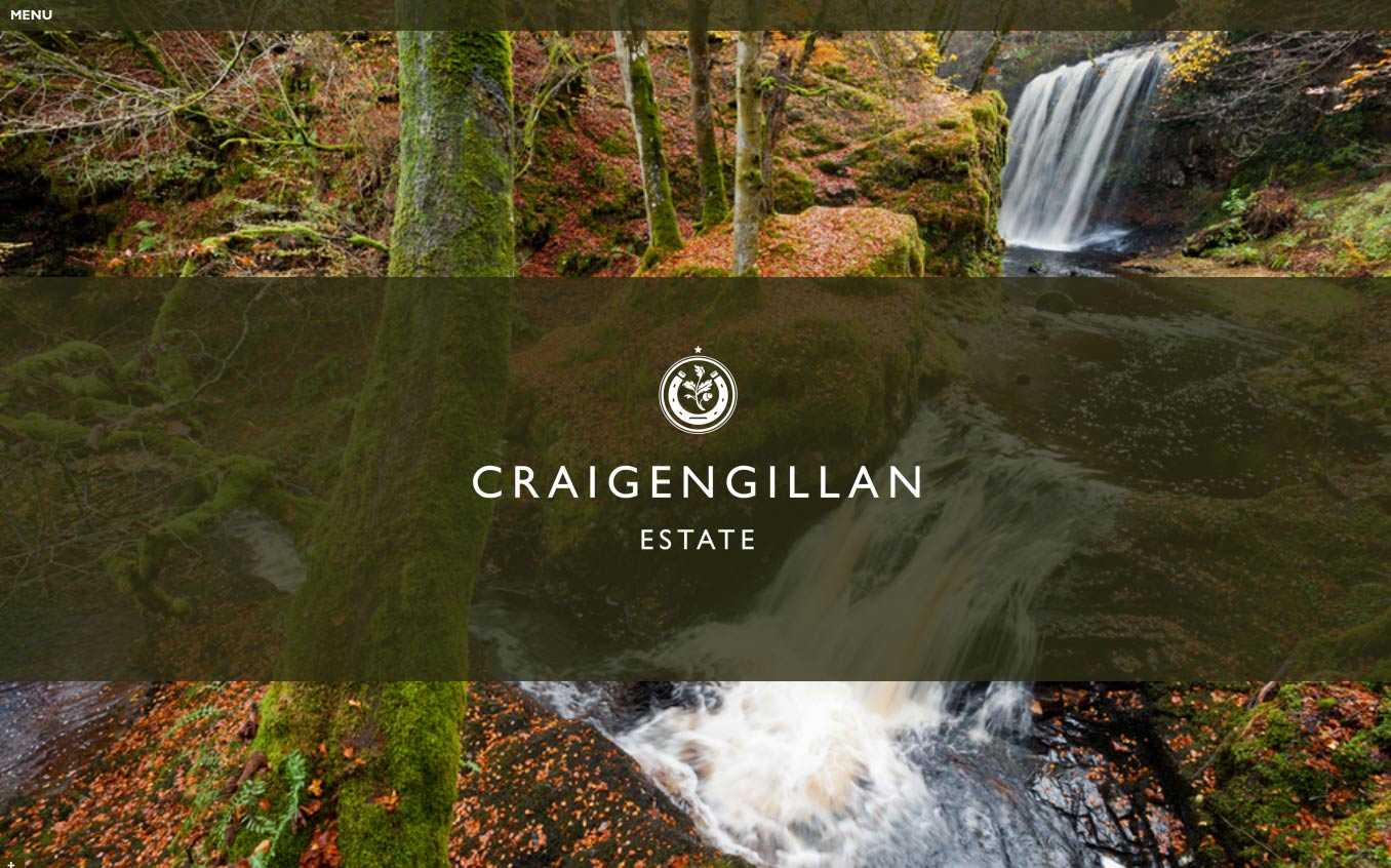 Craigengillan Estate homepage