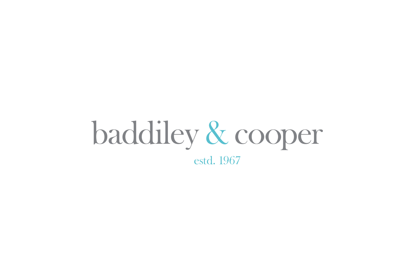 Branding for Baddiley & Cooper by 72dotsperinch