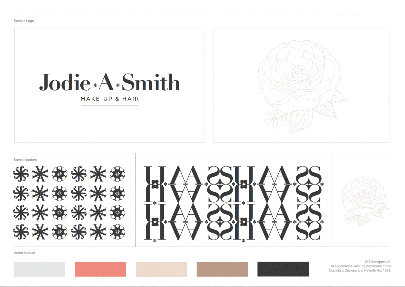 Branding for Jodie A Smith by 72dotsperinch