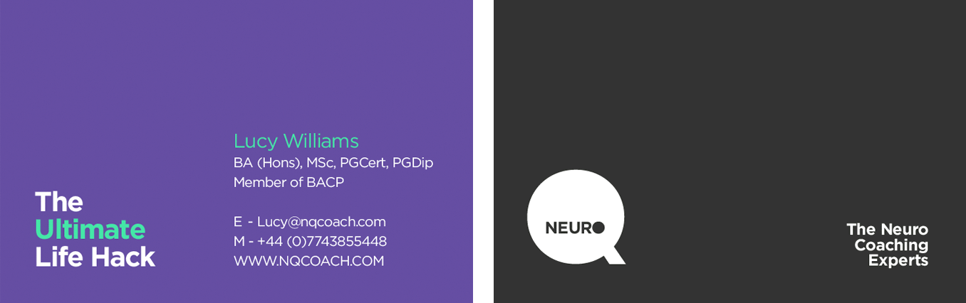 Neuro Q Coach Card